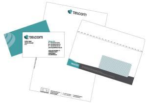 Diseño papelería Telcom S.A